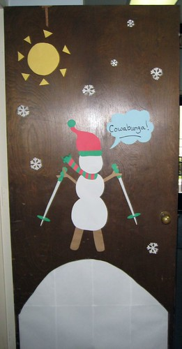 Door Decorating Contest Winner (back)