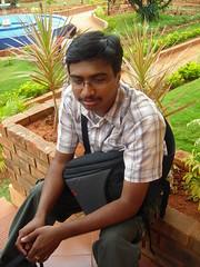 """Karthik """"explorer"""" Manjunath (aanjhan) Tags: trekking bangalore rappelling rbin ramnagar chimneyclimbing"""