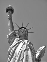 Liberty (shutterBRI) Tags: nyc newyorkcity travel woman usa ny newyork france statue metal america canon liberty us powershot american statueofliberty a630 newyorkharbor shutterbri brianutesch brianuteschphotography