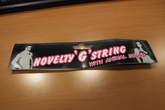Novelty G string (with animal sound)
