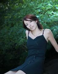 AliceDSC2632 (ez1inva) Tags: sexy female virginia model pretty alice posed redhair blackdress