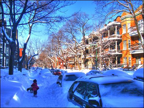 Montreal-sous-la-neige