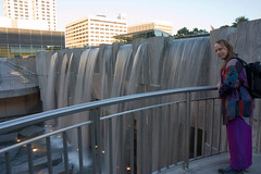 Ziggy at Yerba Buena fountains (funcrunch) Tags: fountain yerbabuena ziggy
