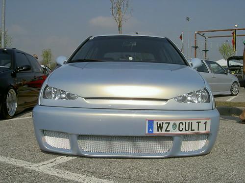 Tuning VW Golf frontal