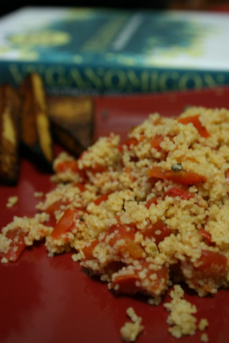 Tomato Couscous with Capers