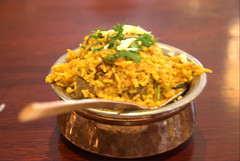 lam & vegetable biryani@Tandoori Palace