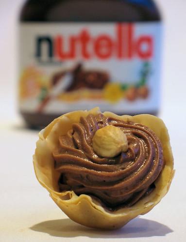 Nutella Filo Cups 2630