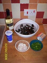 Mussels - prep