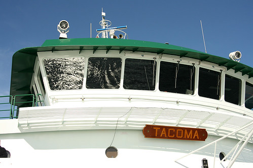Enjoying a summer trip on the Tacoma