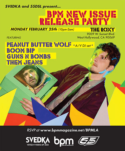 Peanut Butter Wolf - 3/25