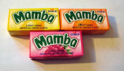 mamba candy flavors - mambas