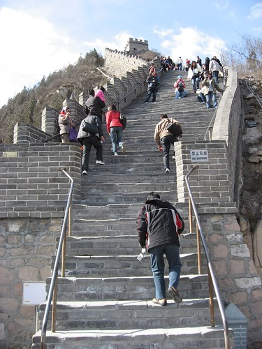 Great Wall - Steep Climb ahead..