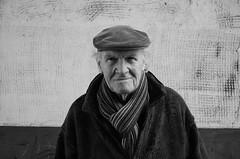 A Beautiful Person - 'Ne schone Mens (My name's axel) Tags: old portrait people blackandwhite bw man closeup nikon belgium oldman elderly utata conversations mechelen mensch malines d40 nikond40