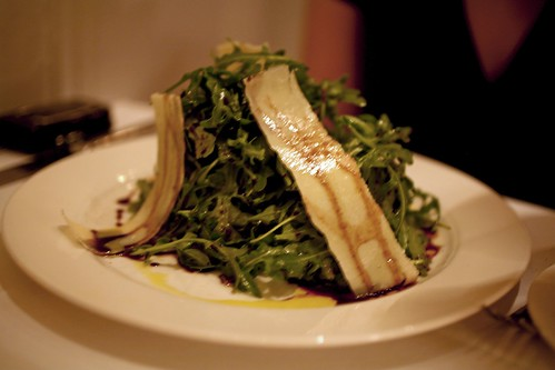 Wild Arugula with Parmesean