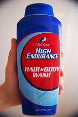 "Day 93/365 ""Pretty much the best stuff ever..."" (Hunter Wilson) Tags: portrait self hair body nolan wilson hunter 365 2008 oldspice wellstone wash365days hunterwilson"