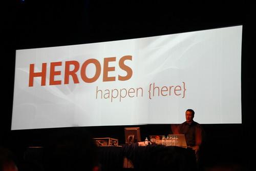 Heroes Happen Here