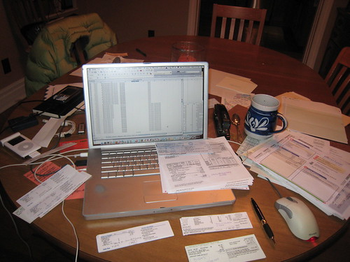 Finishing taxes before trip to Mexico