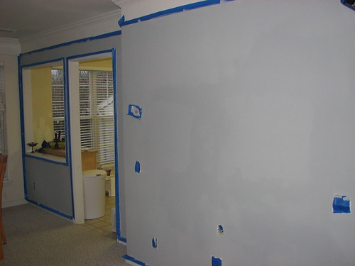 Wall, post-priming