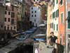 Riomaggiore, by the dock