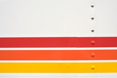 striped (xgray) Tags: red orange white 3 color colors lines yellow digital truck upload 35mm canon austin eos prime three bars texas stripes stripe line iphoto parallel ef35mmf2 40d canoneos40d postedtocolortheoryonlj
