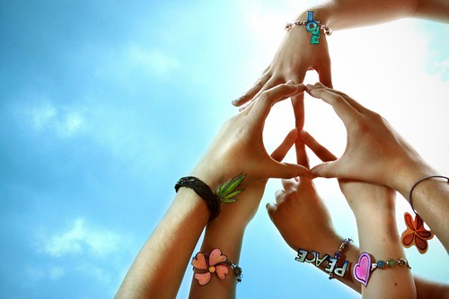 Peace & Love by Fernando Gregory