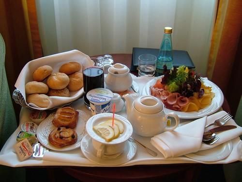 breakfast in Warsaw