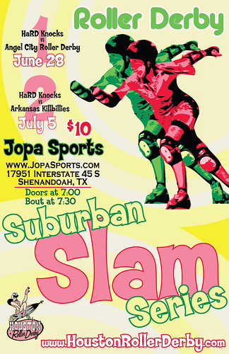 04 Suburban Slam Poster