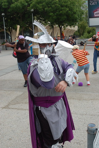 Outside Fanimecon 2008: Shredder