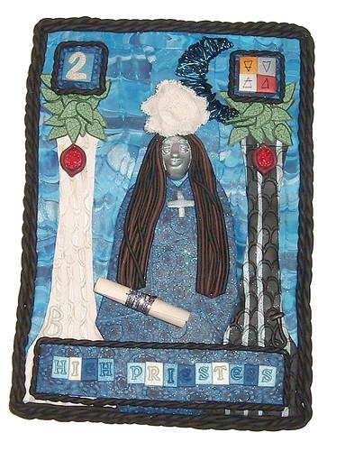 The High Priestess Tarot Art