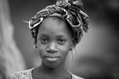 Sénegal: sur les rives du fleuve Sénégal. (claude gourlay) Tags: sénégal afrique africa claudegourlay portrait retrato ritratti podor saintlouis noiretblanc blackandwhite nb bw