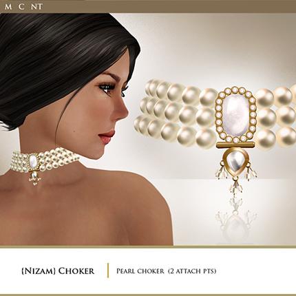 Zaara Nizam pearl choker copy