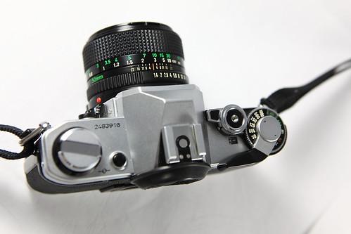 你拍攝的 AE-1。