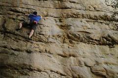 20100404_New River Gorge - Day 2 - Long Wall - Chewy, 5.10b _003 (monkey_vet) Tags: chewy rockclimbing newrivergorge longwall 510b