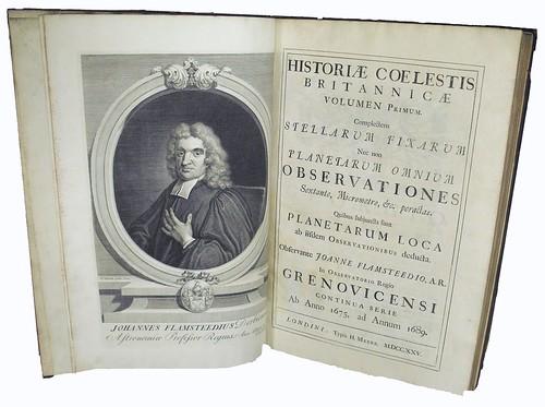 Title Page of 'Historia Celestis Britannica'