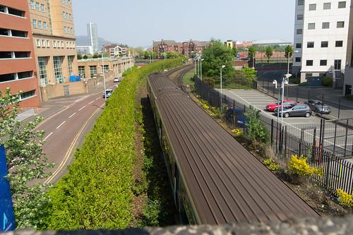 Belfast City Near Central Railway Station