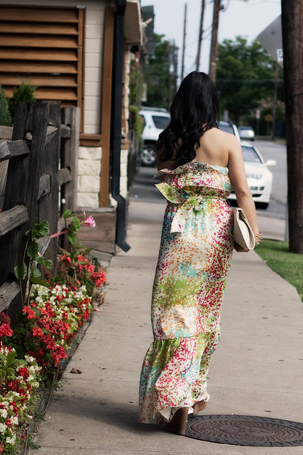 the limited tiered peasant maxi dress j. crew flower pin bakers reilly gladiator sandals aldo iezzi clutch