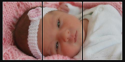 Newborn Arianne by Vilma Salazar