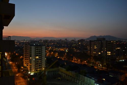 Santiago al anochecer
