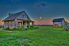 Frontier Cabin at Sunrise (HavCanon.WillTravel) Tags: moon sunrise canon cabin hdr frontier topaz illinios fdrtools