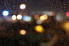 rain, lights II (petit hiboux) Tags: abstract lights dallas texas rainstorm