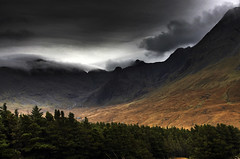 Isle of Skye-scape (bgladman) Tags: uk travel autumn trees holiday mountains skye fall nature landscape outdoors photography scotland photo nikon isleofskye d70 unitedkingdom stock scenic escocia explore colourful nikkor schottland scozia cosse   diamondclassphotographer  brendangladman