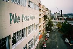 Looking south from Pike Place Market (spokanekelly) Tags: seattle kodak pikeplacemarket olympusxa 400hd