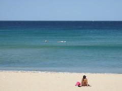 Calm flat waters (goosmurf) Tags: beach manly northsteyne