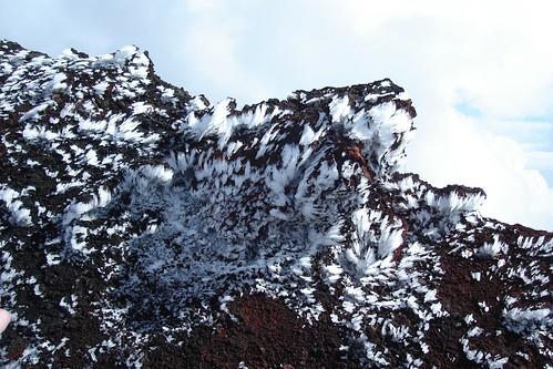 Ice Grows Sideways on Etna