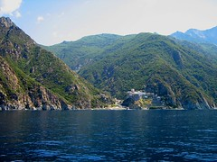 (cod_gabriel) Tags: sea mountain abbey montagne seaside rocks mare aegean mount greece monastery grecia peninsula griechenland litoral grce grece athos grcia mountathos munte griekenland yunanistan grekland grecja holymountain   egee stanci grkenland hellenicrepublic  grka grgorszg  monteathos  mareaegee ecko  sfant montathos  munteleathos monteatos    sfantulmunte    yunani         brdoatos athoszhegy          aynoroz