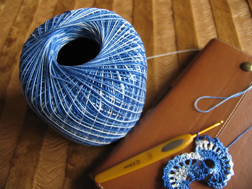 Crocheting Thread : cashmere blend: does crochet thread count as yarn?