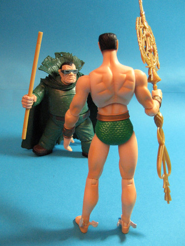 Mole Man and Namor