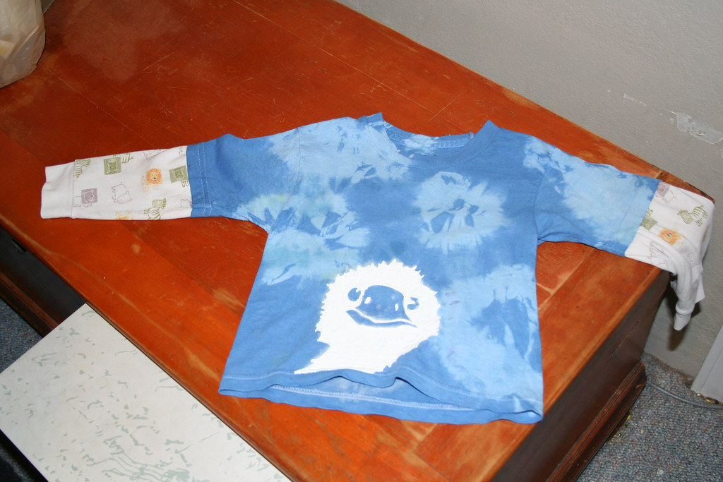Stained t-shirt recycled