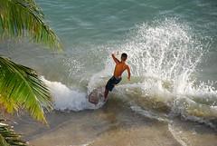 Skimboard (fgfathome) Tags: hawaii waikiki skimboard