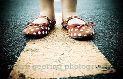 Polka Dots Again (Robyn Geering Photography) Tags: red kids shoes child angle wide polka spots dots 10mm artsyfartsyfeet